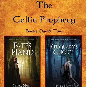 celtic prophesy book one and two cover